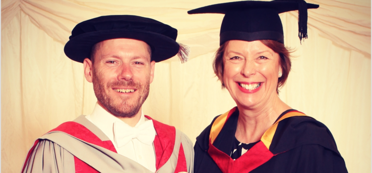 Honorary degree awarded to Rob Law MBE