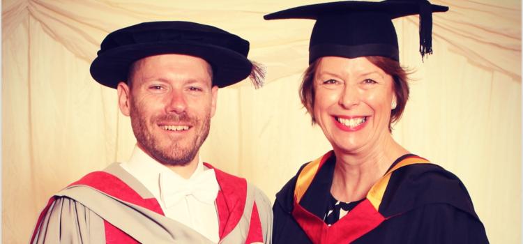 Honorary degree awarded to Rob Law MBE