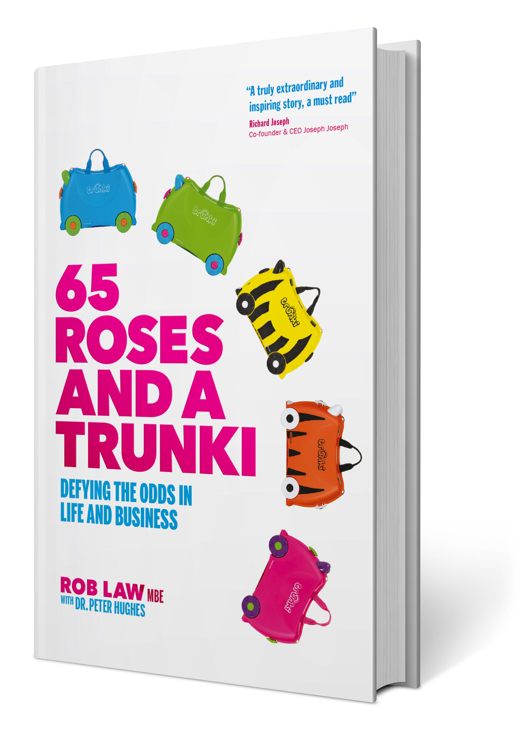 cover from 65 roses and a trunki by rob law mbe